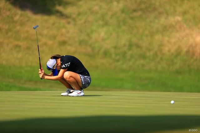 2020年 日本女子オープンゴルフ選手権 2日目 上田桃子 こういう日もあるのがゴルフ