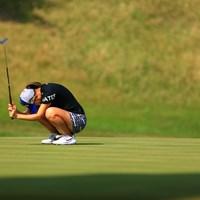 こういう日もあるのがゴルフ 2020年 日本女子オープンゴルフ選手権 2日目 上田桃子