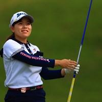 今日は爆発があるかもと期待したんですが、、 2020年 日本女子オープンゴルフ選手権 3日目 勝みなみ