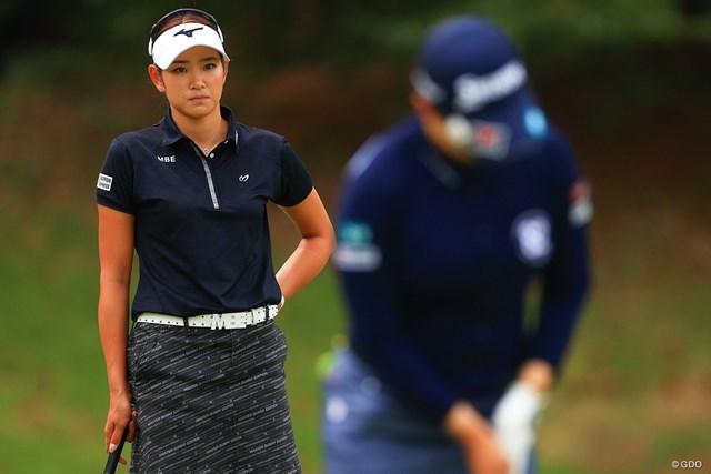 2020年 日本女子オープンゴルフ選手権 3日目 原英莉花 勝負の世界、これぐらいバチバチに。明日もいい試合が見れるでしょう