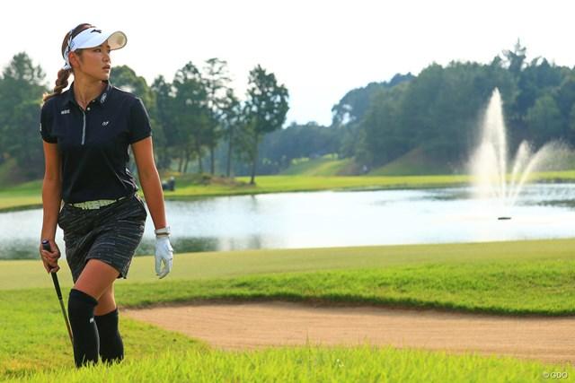 2020年 日本女子オープンゴルフ選手権 3日目 原英莉花 原英莉花が師匠の言葉の重みを胸に刻んでメジャー獲りへ前進