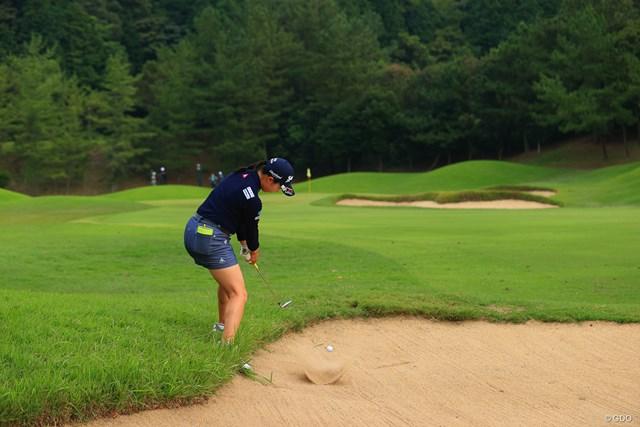 2020年 日本女子オープンゴルフ選手権 3日目 小祝さくら 安定感を欠いた小祝さくら
