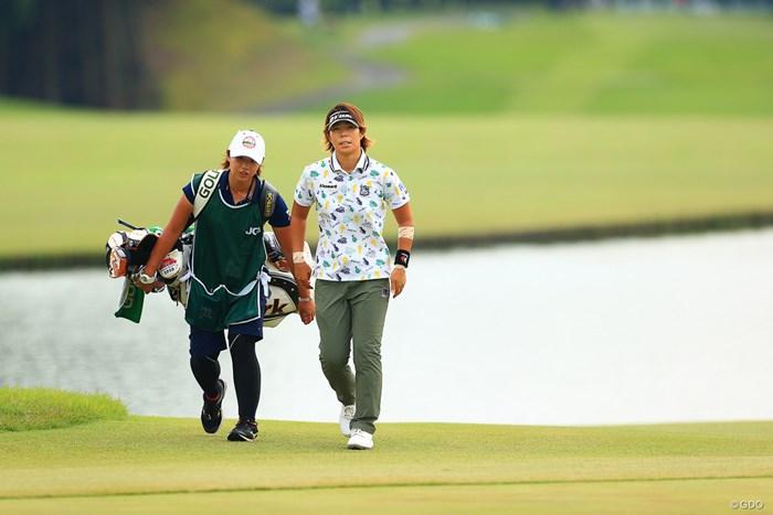 5位から3位に浮上も首位とは7打差に 2020年 日本女子オープンゴルフ選手権 3日目 穴井詩