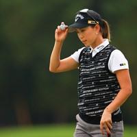 上田桃子は後半挽回した 2020年 日本女子オープンゴルフ選手権 3日目 上田桃子