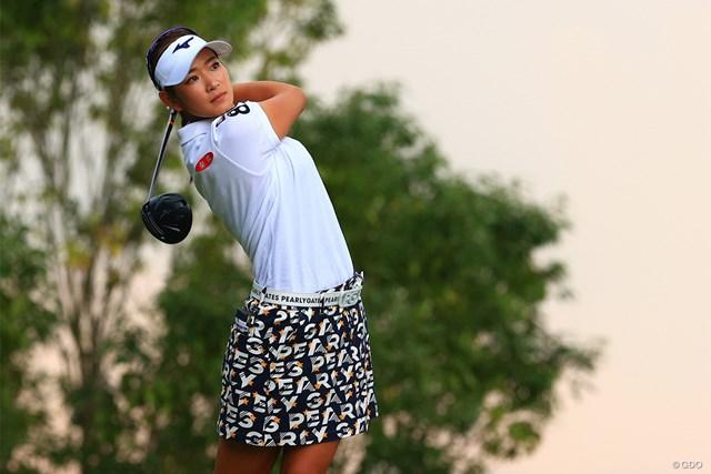 2020年 日本女子オープンゴルフ選手権  最終日 原英莉花 原英莉花をジャンボ尾崎も祝福した