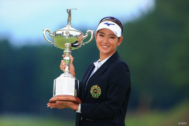 2020年 日本女子オープンゴルフ選手権 最終日 原英莉花 原英莉花がうれしいメジャー初優勝
