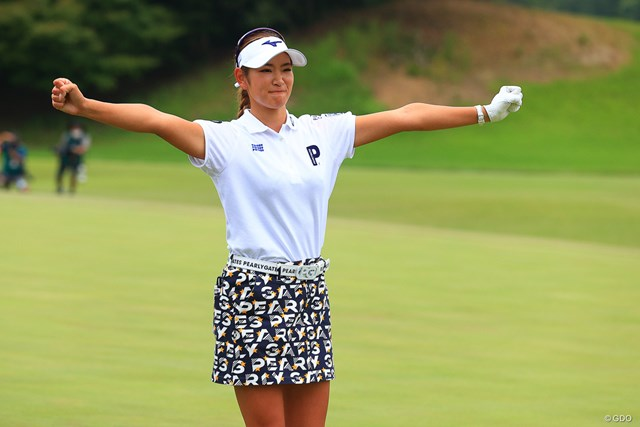2020年 日本女子オープンゴルフ選手権 最終日 原英莉花 メジャーで頂点に立った原英莉花。苦しい時期も乗り越えた