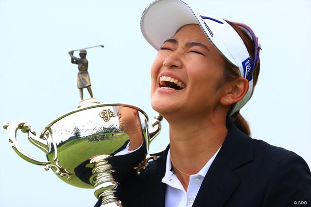 2020年 日本女子オープンゴルフ選手権 最終日 原英莉花 「2勝目」&「ナショナルオープン」勝利の笑顔