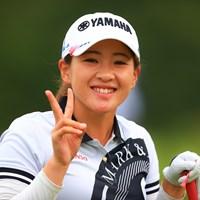 朝の笑顔たち 2020年 日本女子オープンゴルフ選手権 最終日 永井花奈