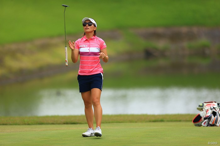 無観客の中でアクションは貴重 2020年 日本女子オープンゴルフ選手権 最終日 テレサ・ルー
