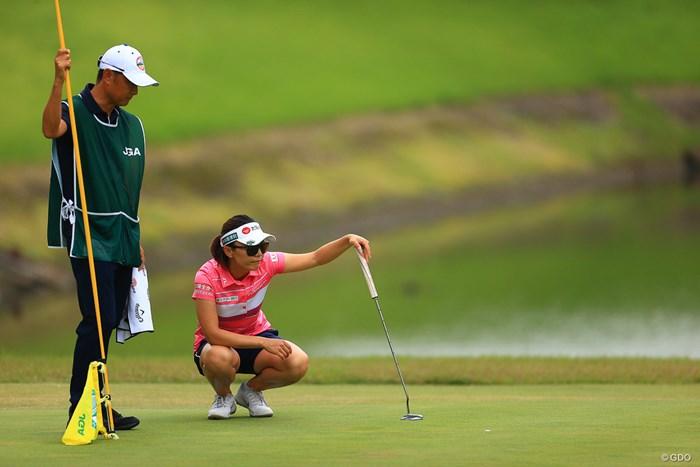 僕はこのポーズを真似してます 2020年 日本女子オープンゴルフ選手権 最終日 テレサ・ルー
