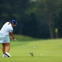 Hole2Par4。セカンドショット 2020年 日本女子オープンゴルフ選手権 最終日 鈴木愛