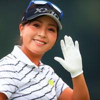 朝からありがとうございます!! 2020年 日本女子オープンゴルフ選手権 最終日 青木瀬令奈