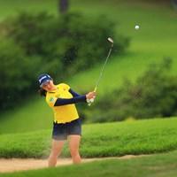 彼女も最終組最後まで優勝を諦めなかった。今日の姿は本当にかっこよかった 2020年 日本女子オープンゴルフ選手権 最終日 小祝さくら
