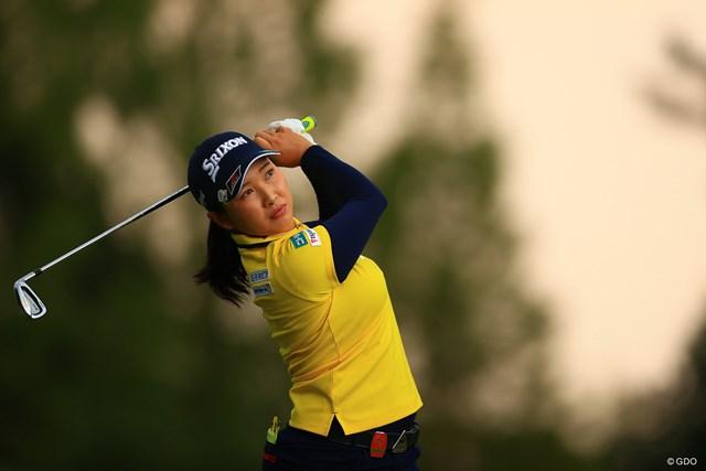 2020年 日本女子オープンゴルフ選手権 最終日 小祝さくら 真昼に空が焼けるという珍しい天気