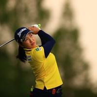 真昼に空が焼けるという珍しい天気 2020年 日本女子オープンゴルフ選手権 最終日 小祝さくら