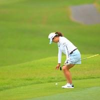 最近のドロップは腰痛持ちのポーズに見える件 2020年 日本女子オープンゴルフ選手権 最終日 勝みなみ
