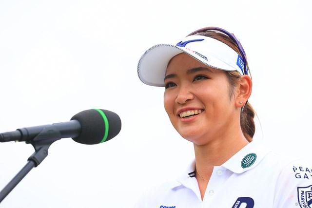 2020年 日本女子オープンゴルフ選手権 最終日 原英莉花 この笑顔が見たかった人たくさんいるんでしょーーー!!