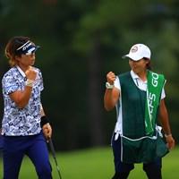 きた!!エアーグータッチ!! 2020年 日本女子オープンゴルフ選手権 最終日 穴井詩