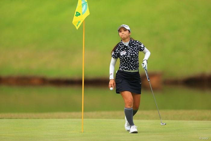 Hole4par3。バーディ 2020年 日本女子オープンゴルフ選手権 最終日 菊地絵理香
