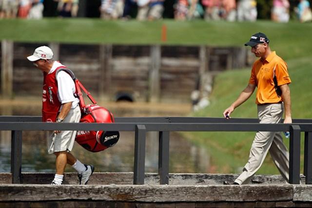 首位を守るジム・フューリック!今季2勝目なるか!?(Scott Halleran/Getty Images)