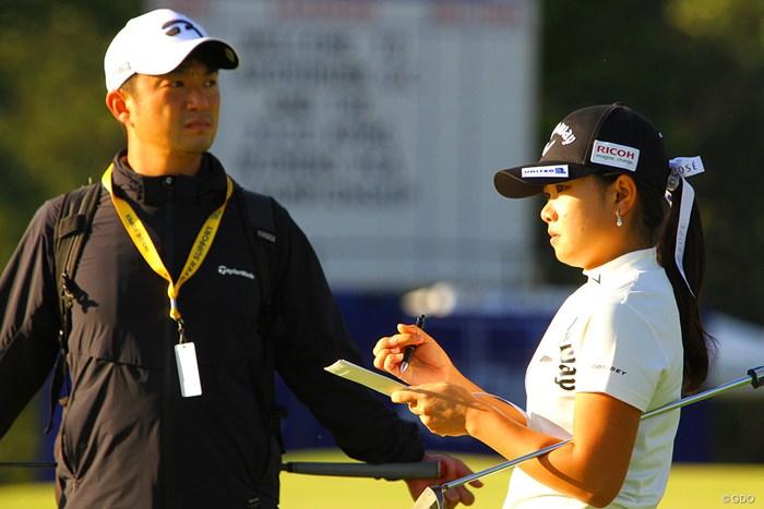 目澤秀憲コーチの合流で万全 2020年 KPMG全米女子プロゴルフ選手権 事前 河本結