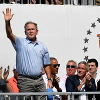 ジョージ・W・ブッシュ元米大統領※写真は2017年プレジデンツカップ(Stan Badz/PGA TOUR) 2020年 ジョージ・W・ブッシュ元米大統領