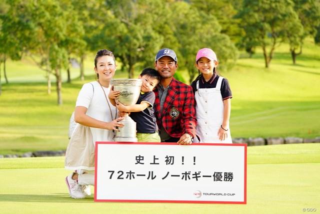 2020年 宮里優作 宮里優作がノーボギー優勝を達成した(写真は2017年HONMA TOURWORLD CUP)