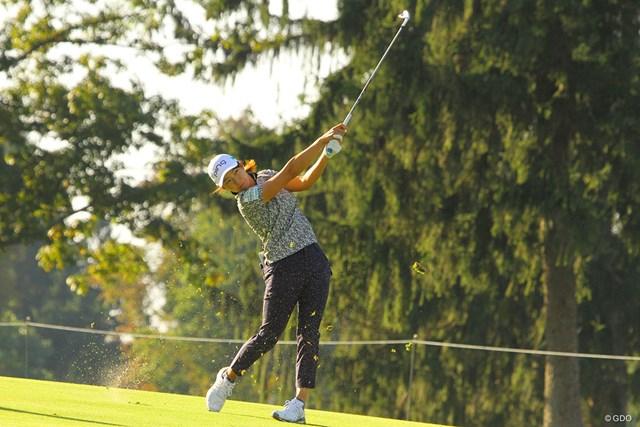 2020年 KPMG全米女子プロゴルフ選手権 事前 渋野日向子 渋野日向子が距離の長いタフなコースに立ち向かう
