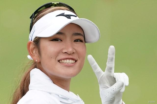 2020年 スタンレーレディスゴルフトーナメント 事前 原英莉花 ジャンボからの「おめでとう」が胸に響いた原英莉花
