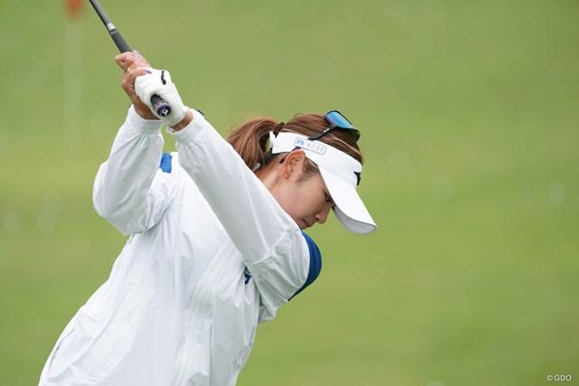 2020年 スタンレーレディスゴルフトーナメント 事前 原英莉花 2週連続優勝に向けて調整する原英莉花