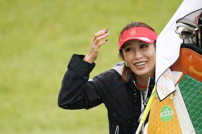 かくれんぼ 2020年 スタンレーレディスゴルフトーナメント 事前 金田久美子