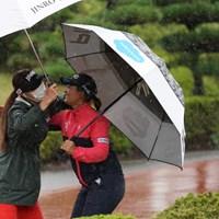 久しぶりの再会 2020年 スタンレーレディスゴルフトーナメント 事前 キム・ハヌルと鈴木愛