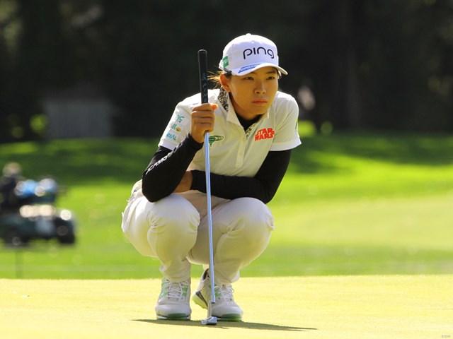 2020年 KPMG全米女子プロゴルフ選手権 初日 渋野日向子 渋野日向子は前半を1アンダーとした