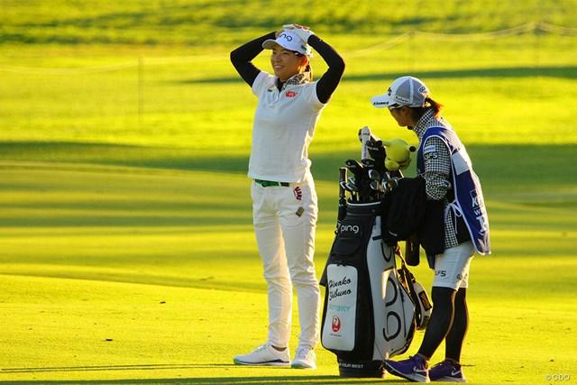 2020年 KPMG全米女子プロゴルフ選手権 初日 渋野日向子 風はトモダチ。タフなコースで笑顔も目立った