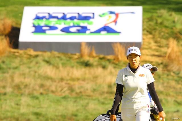2020年 KPMG全米女子プロゴルフ選手権 初日 渋野日向子 大舞台で持ち味を発揮