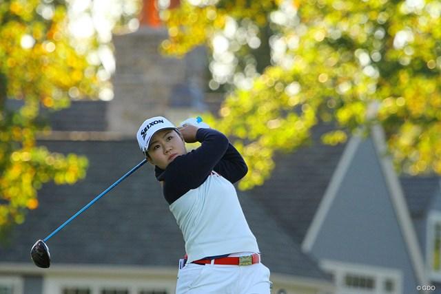 2020年 KPMG全米女子プロゴルフ選手権 初日 畑岡奈紗 風の中でショットに苦しみながら粘った