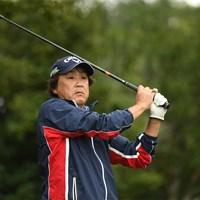 初日2位発進した溝口英二(提供:日本プロゴルフ協会) 2020年 日本プロゴルフシニア選手権大会 住友商事・サミットカップ 初日 溝口英二