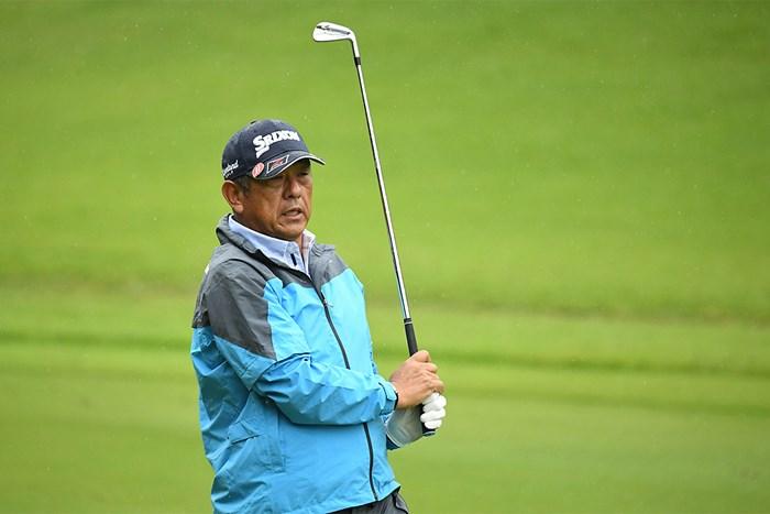 加瀬秀樹は6位で初日を終えた(提供:日本プロゴルフ協会) 2020年 日本プロゴルフシニア選手権大会 住友商事・サミットカップ 初日 加瀬秀樹
