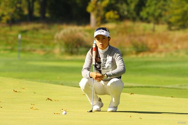 2020年 KPMG全米女子プロゴルフ選手権 初日 河本結 ショートパットを悔やみつつ、デビュー戦の反省は生かした