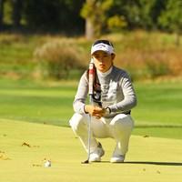 ショートパットを悔やみつつ、デビュー戦の反省は生かした 2020年 KPMG全米女子プロゴルフ選手権 初日 河本結