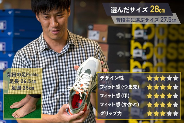 プーマ「RS-G」 プーマ「RS-G」GDO柴田の評価
