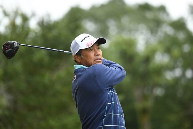 2020年 日本プロゴルフシニア選手権大会 住友商事・サミットカップ 2日目 清水洋一 今シーズンベストの「65」で回った清水洋一(提供:日本プロゴルフ協会)