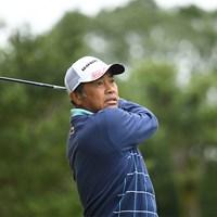 今シーズンベストの「65」で回った清水洋一(提供:日本プロゴルフ協会) 2020年 日本プロゴルフシニア選手権大会 住友商事・サミットカップ 2日目 清水洋一