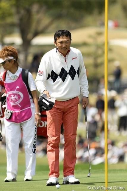 広田悟/東建ホームメイトカップ最終日 後半4バーディ、「67」で回りプレーオフに進出した広田悟