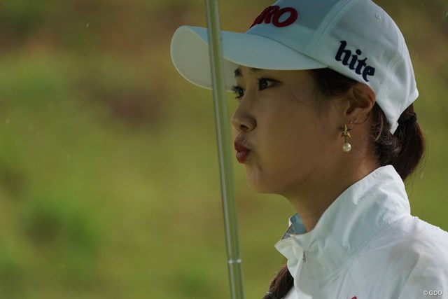 2020年 スタンレーレディスゴルフトーナメント 初日 キム・ハヌル 上手くいかない?