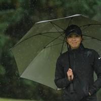 雨に溶け込んでる 2020年 スタンレーレディスゴルフトーナメント 初日 葭葉ルミ