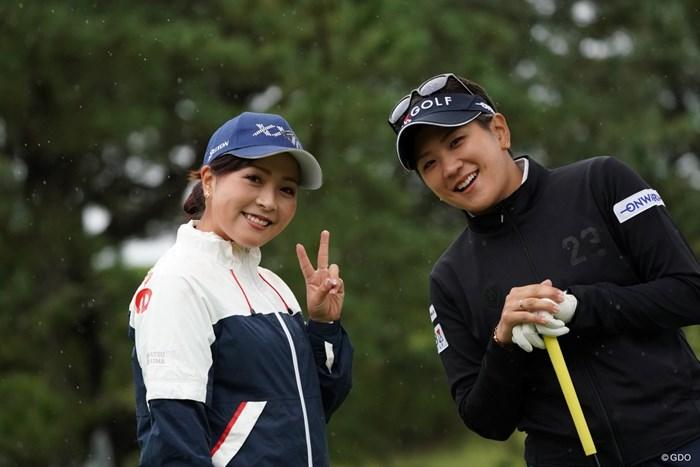 大の仲良しコンビは同組 2020年 スタンレーレディスゴルフトーナメント 初日 青木瀬令奈と成田美寿々