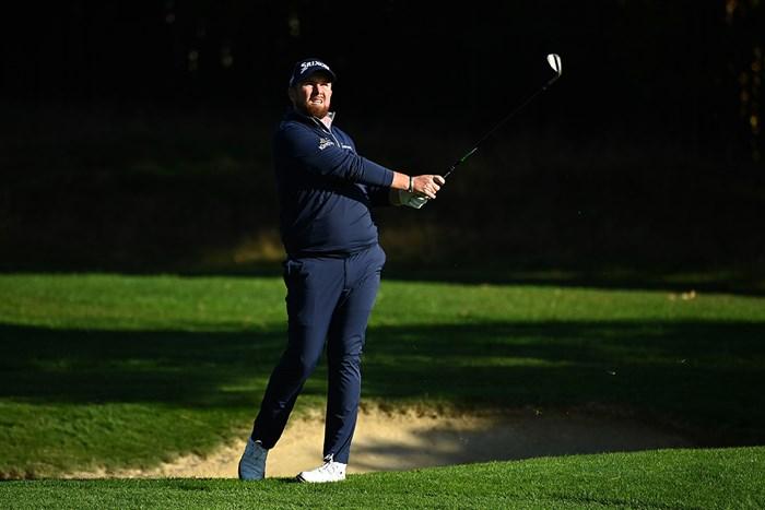 「65」と快調に伸ばしたシェーン・ローリー(Ross KinnairdGetty Images) 2020年 BMW PGA選手権 2日目 シェーン・ローリー