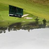 台風に伴う大雨のため、2日目は中止となった 2020年 スタンレーレディスゴルフトーナメント 2日目 東名CC